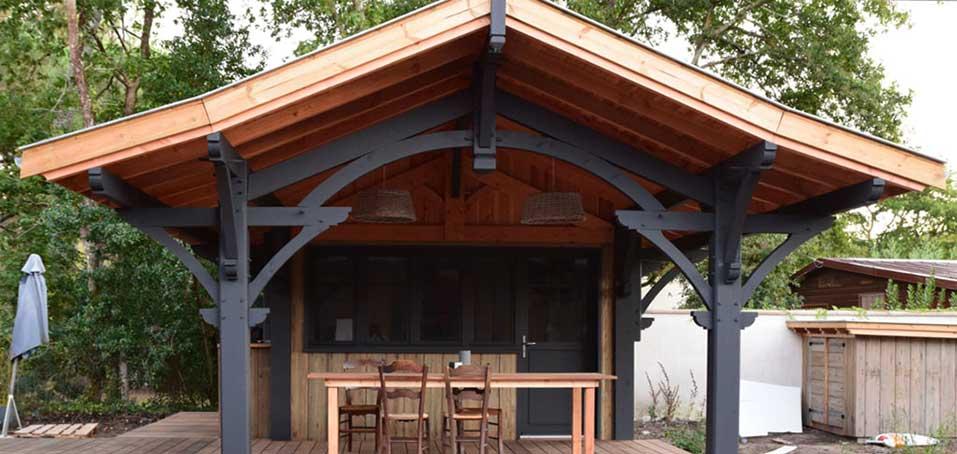 maison en bois cap ferret affordable fin de journe sur la terrasse with maison en bois cap. Black Bedroom Furniture Sets. Home Design Ideas